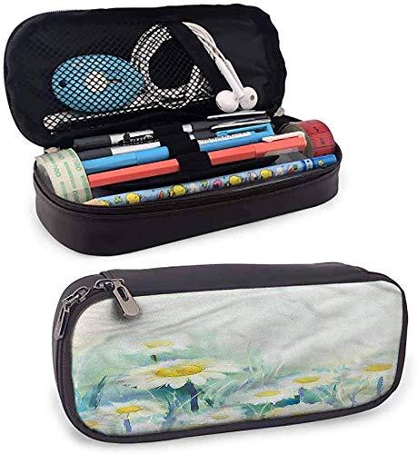 maja shop estuche pequeño con diseño de flores para lápices con cierre de cremallera, para uso diario, color color11 3.5x1.5x8