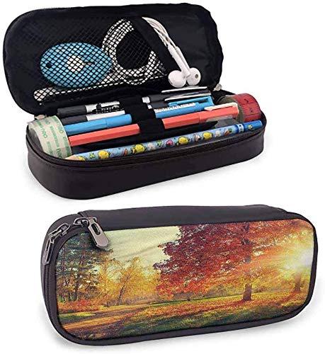 maja shop estuche transparente para lápices con cremallera, para uso diario, color color16 3.5x1.5x8