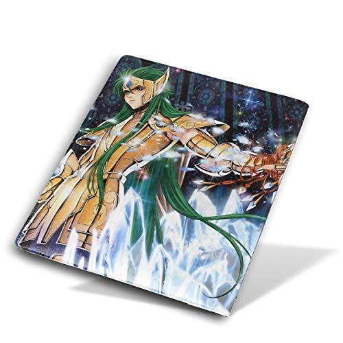 kankanhaha funda de piel sintética con diseño de saint seiya anime, dibujos animados, cómic, se adapta a la mayoría de libros de texto de tapa dura de hasta 23 cm x 28 cm de diario, libros y cuaderno de bocetos