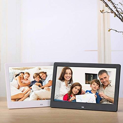 Supclub 10 pulgadas pantalla LED retroiluminación HD digital marco de fotos álbum electrónico película de música función completa buen regalo
