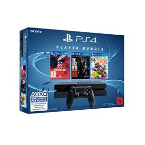 Sony PlayStation 4 + DRIVECLUB, LittleBigPlanet 3, The Last of Us Remastered Negro 500 GB Wifi - Videoconsolas (LittleBigPlanet 3, The Last of Us Remastered, PlayStation 4, Negro, 8192 MB, GDDR5, AMD Jaguar, AMD Radeon)