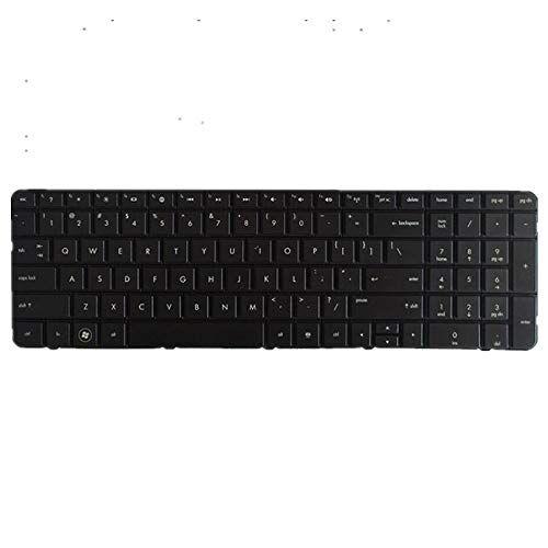fq teclado portátil para hp 17-ak000 negro versión estadounidense