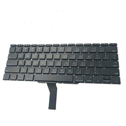 fqparts teclado portátil para apple a1466 negro versión estadounidense