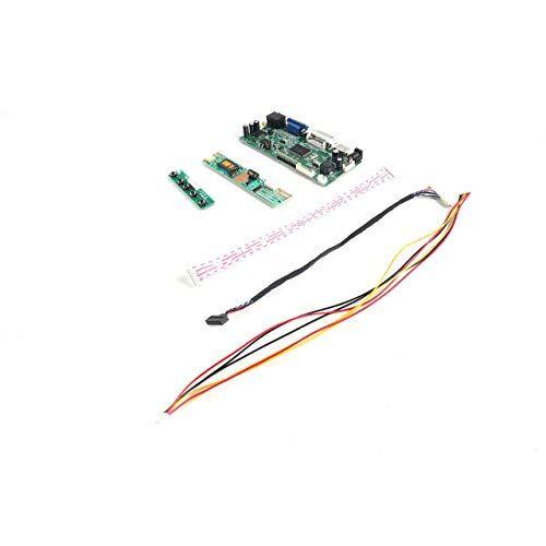 esjasnyfall profesional m.nt68676.2a hdmi dvi vga audio lcd led controlador de pantalla tablero diy pantalla monitor kit kit (verde) esjasnyfall