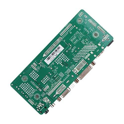 moliies profesional m.nt68676.2a hdmi dvi vga audio lcd pantalla de controlador de pantalla led diy kit de monitor de pantalla set + verde