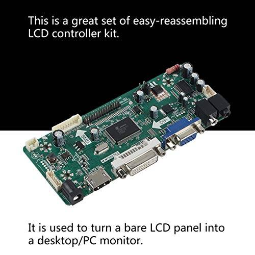 panamami profesional m.nt68676.2a hdmi dvi vga audio lcd pantalla de controlador de pantalla led diy kit de monitor de pantalla set/verde