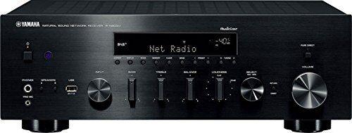 yamaha r-n803d 100w 2.0canales estéreo negro - receptor av (100 w, 2.0 canales, estéreo, 220 w, 140 w, 0,019%)