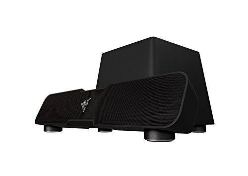 razer leviathan - barra de sonido de 30 w, negro