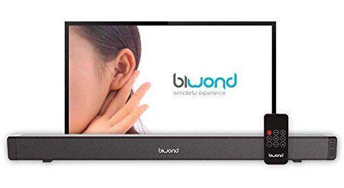 biwond barra de sonido joybox soundbar 28w biwond
