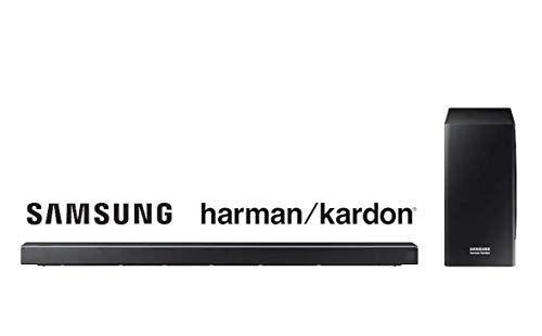 samsung barra de sonido samsung   harman kardon hw-q60r 5.1ch 360w con subwoofer inalámbrico y tecnología acoustic beam