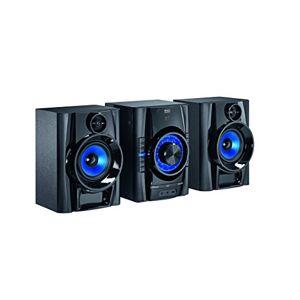 Mac Audio MPS   Dab + Minicadena   High de Power Sistema Hi-Fi con Dab +, Bluetooth, USB, CD, Entrada Auxiliar, RDSNegro MPS 501 Negro
