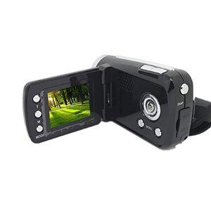 cottonlilac Cámara Digital Videocámara Grabadora de Video portátil Pantalla con Zoom Digital 4X Grabador de Video para Exteriores de 16 Millones de hogares - Negro