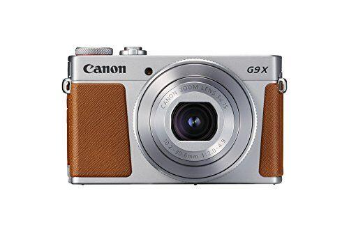 canon powershot g9 x mark ii - cámara compacta de 20.9 mp (pantalla táctil de 3, vídeo full hd, cmos, intelligent is, digic 7, bluetooth) plata