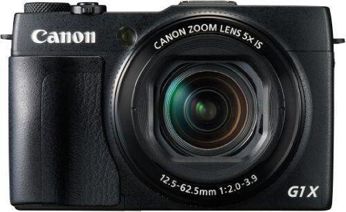 canon powershot g1x mark ii - cámara compacta de 12.8 mp (pantalla de 3, zoom óptico 5x, estabilizador digital, vídeo full hd, gps a través de móvil, wifi), negro