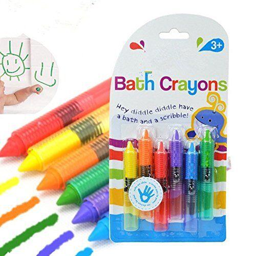 zantec 6 colores lápices de colores para niños seguros dibujo colorido pintura lápices de colores como bricolaje kit de arte lápiz
