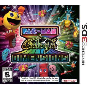 Nintendo Namco Bandai Games Pac-Man & Galaga Dimensions, 3DS Nintendo 3DS Inglés vídeo - Juego (3DS, Nintendo 3DS, Acción / Aventura, E10 + (Everyone 10 +))