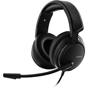 Lour N12 Gaming Headset para el Interruptor de Xbox One PS4 PC Nintendo, Auriculares con micrófono para Juegos de Xbox Playstation 4 1S PS4 Pro Mic - Negro