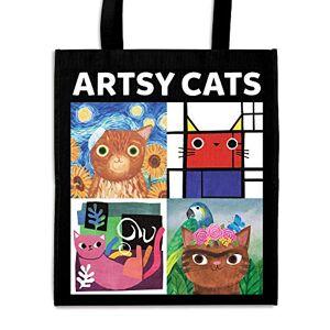 Mudpuppy Artsy Cats: Reusable Shopping Bag