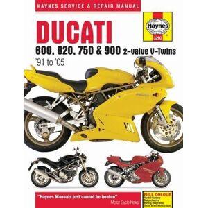 Haynes Publishing Ducati 600, 750 & 900 2-Valve V-Twins (91 - 05) (Haynes Service & Repair Manual)