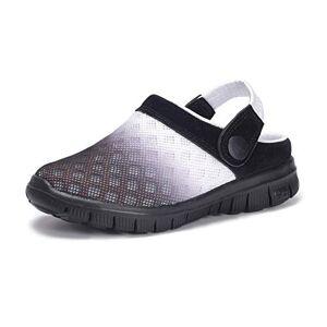 KVbabby Zuecos Niños Sandalias Respirable Malla Mules Zapatillas de Playa Resbalón en Jardín Zapatos Mulas 30 EU = Fabricante 31