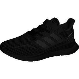 Adidas RUNFALCON C, Zapatillas de Running Unisex niño, Negro (Negbás/Negbás/Negbás 000), 31 EU