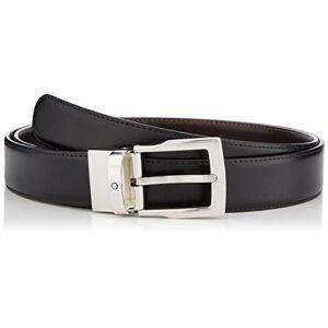 Montblanc Belt 11713495 Cinturón, negro, 15 Unisex Adulto