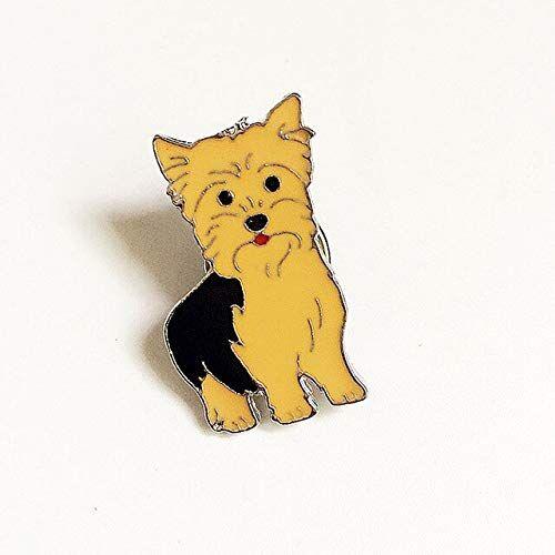 WEHONG Pin De Dibujos Animados Insignias Lindo Patrón De Perro Mascota Broches Esmalte Pin Joyería Chaquetas De Mezclilla Ropa Collar Insignia Regalos13
