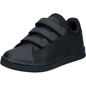 Adidas Advantage C, Zapatillas de Tenis Unisex niño, Multicolor (Negbás/Negbás/Grisei 000), 30 EU