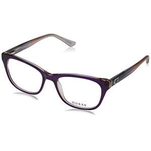 Guess GU2678 Monturas de gafas, Morado (Viola), 52.0 Unisex Adulto