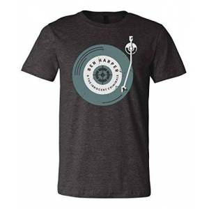 GIEVSZHE Hombre Ben Harper 2031Day Vintage Design Premium T Shirt Camisetas Large