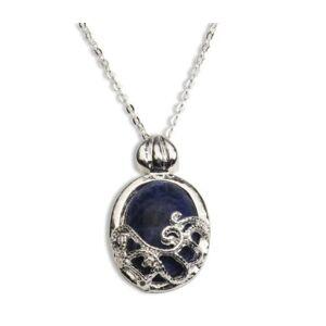 Island Gifts - Collar con colgante de plata de ley 925 para mujer