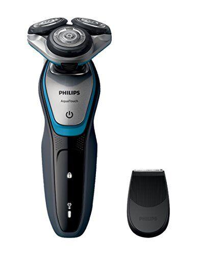 philips s5400/06 - afeitadora eléctrica rotativa para hombre, color negro