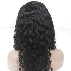 FLOSSYA Peluca de encaje rizado de princesa para cabello natural de bebé, 100% cabello natural brasileño virgen humano natural, densidad del cabello 130%