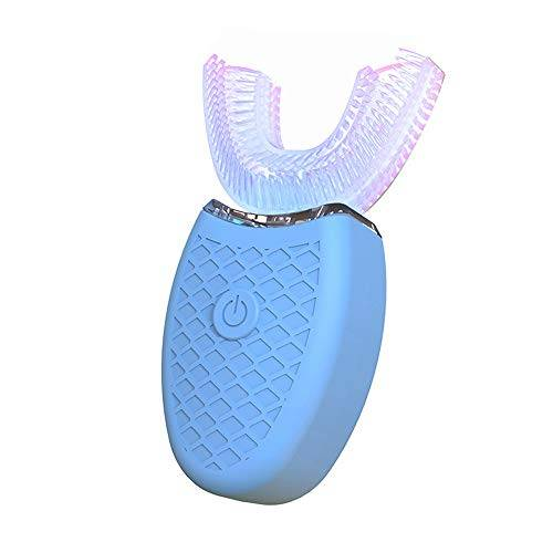 lwbn cepillo de dientes eléctrico recargable instrumento de cuidado dental dentista onda de sonido adulto luz fría instrumento de belleza modelo de carga ultrasónica silicona - mantenga los dientes limpios