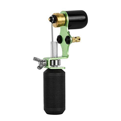 atomus green máquina rotativa de tatuaje shader y forro con silicona mango de tatuaje mango de luz máquina de tatuaje motor pistola de aleación de aluminio