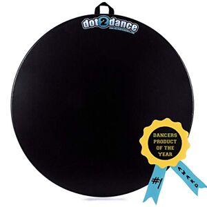 dot2dance Alfombrilla de baile portátil en 4 tamaños, entre ellos Turn Board y Tap Board, ideal para practicar con seguridad, 16, Negro