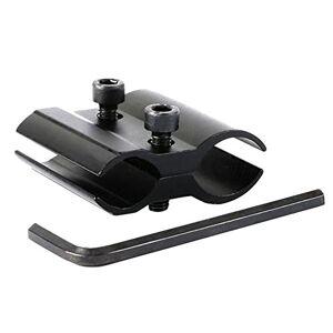 Aquiver Ajustable Doble barril anillo Clip para linterna Alcance vista montaje para escopeta de caza