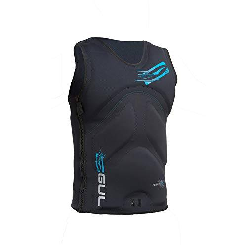 gul 2017 flexor lll impact vest black / crip sk7107-b1 sizes- extralarge