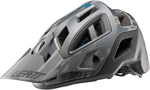 leatt 1019303702 casco de bicicleta de montaña unisex para adulto, color gris cepillado, talla l