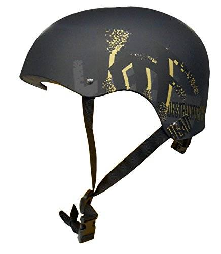 krf the new urban concept destructor casco multideporte, unisex, negro (gold), l (56-60 cm)