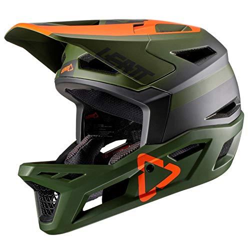 leatt dbx 4.0-verde forest-xl casco para adulto (61-62 cm), color verde