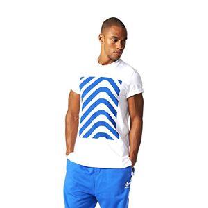 Adidas Hrgbone Block T Camiseta, Hombre, Blanco (Blanco), M