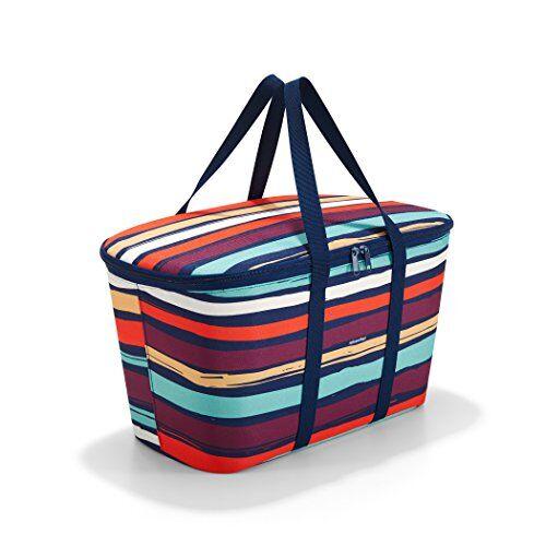 reisenthel coolerbag equipaje de mano 44 centimeters 20 multicolor (artist stripes)