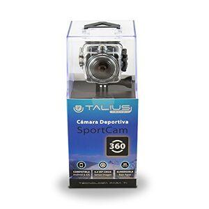 TALIUS, TECH 4 U Talius SportCam 360 cámara Deportiva batería 1150mAh Angulo de Vision 220 Pantalla LCD Color Negro