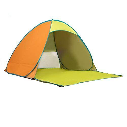 qinmo tienda de campaña, tienda pop-up automática plegable, la mosca de la lluvia extraíble, se puede configurar fácilmente como una mochila que acampa yendo de actividades al aire libre (color : e)