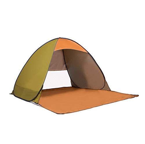 qinmo tienda de campaña, tienda pop-up automática plegable, la mosca de la lluvia extraíble, se puede configurar fácilmente como una mochila que acampa yendo de actividades al aire libre (color : c)