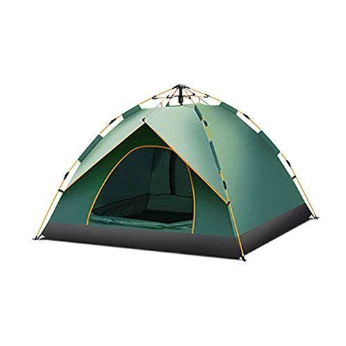qinmo tienda de campaña de primavera totalmente automático, anti tormenta 3-4 personas, se puede configurar fácilmente como una mochila camping, senderismo, acampada libre (color : blue, size : s)