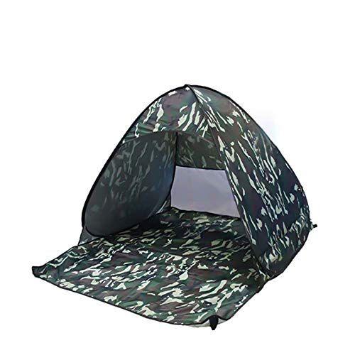la view tienda de campaña para playa con protección uv, incluye bolsa de viaje y clavos para tienda de campaña + red antimosquitos, camouflage