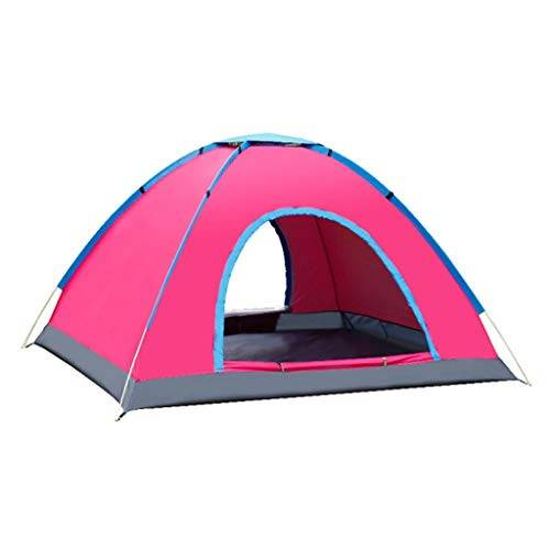 yanzz tienda de campaña totalmente automática para 3 o 4 personas, acampadas, viajes en coche, tienda de campaña (color : c) dsfhsfd, a