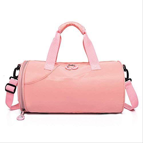 yfdd viaje de la aptitud bolsa de bolsa de la aptitud bolsa de equipaje de mano bolsa mojada y seca aijia (color : pink)